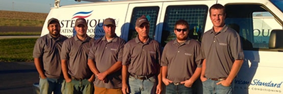 The dedicated techs are Westerhouse Heating and Cooling are there to serve Eudora, KS and surrounding communities.