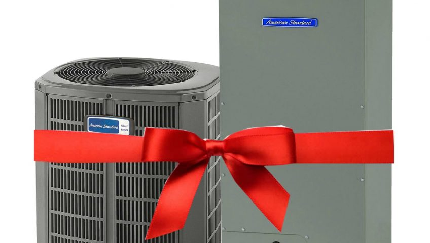 HVAC Repair might not be the best Christmas gift but it can bring you comfort and joy!