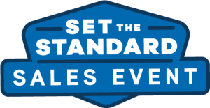 Set the Standard Sales Event for American Standard HVAC Equipment. Installed by Westerhouse Heating and Cooling, Eudora, KS