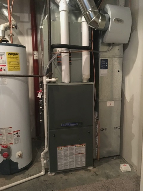 New furnace installation in Parkville, MO by Westerhouse Heating and Air