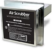 Protect yourself from viruses at home or work with the Air Scrubber